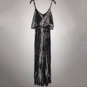 Japna Tie Dye Maxi Dress Medium